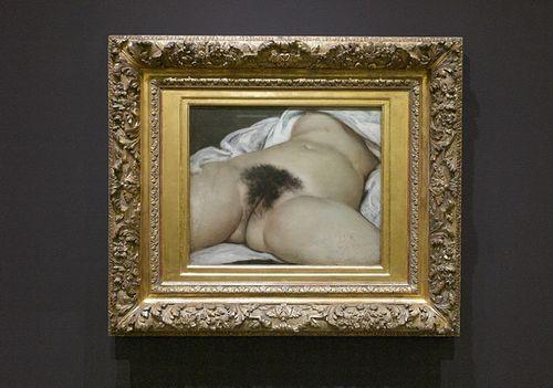 L'Origine du monde est un tableau réalisé par Gustave Courbet en 1866