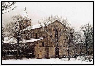 abbaye cistercienne de Leoncel -drome-france