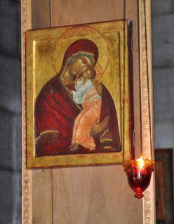"""Théotokos en grec : """"celle qui a enfanté Dieu"""""""