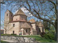 L'Abbatiale d'Ottmarsheim