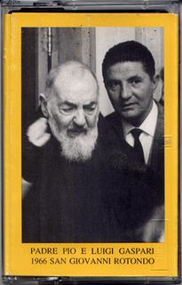 Padre PIO et le Dr. Luigi Gaspari.