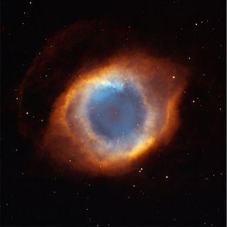 Helix Nebula ou l'oeil de dieu