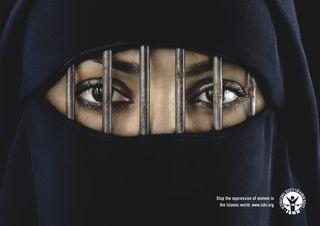 Burka = la femme selon l'islam....
